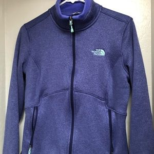 Purple The North Face Jacket Size M
